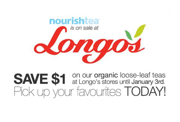 SALE: Save on nourishtea at Longo's
