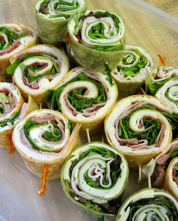 Pinwheel Wraps