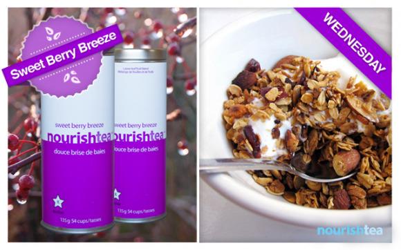 Wednesday: Greek Yogurt and Homemade Granola